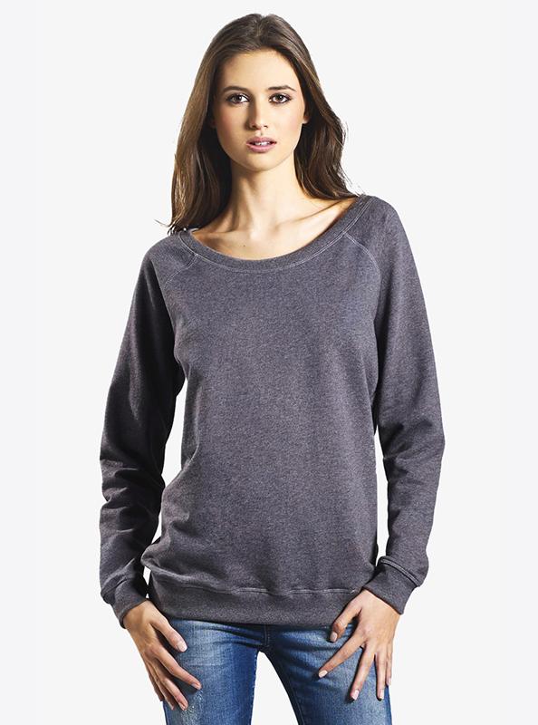 Damen Sweatshirt Bio-Baumwolle bedrucken