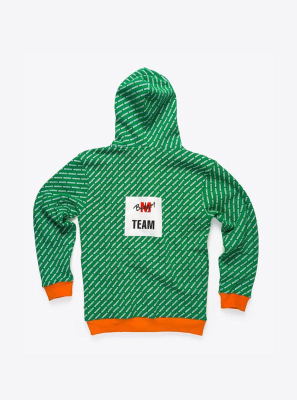 Sweatshirt mit Kapuze bedrucken