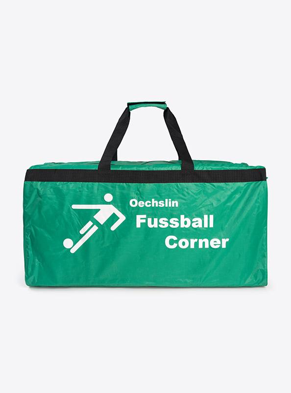 Fussballtasche bedruckt mit Clublogo