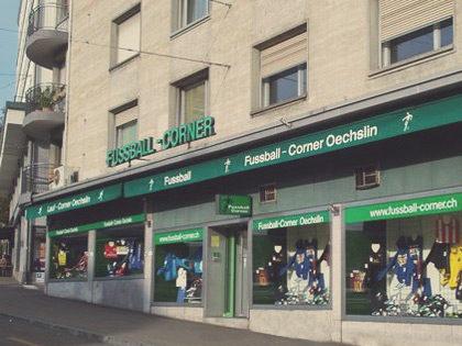 Fussballcorner Oechslin: Neues Equipment vom Profi