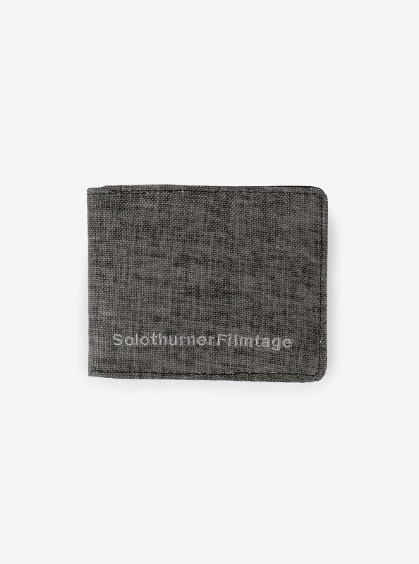 Portemonnaie mit Logo besticken