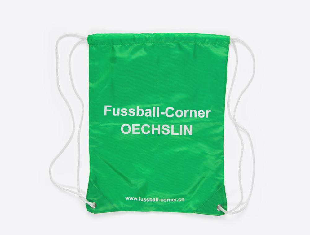 Gym Bag mit Logo bedruckt Fussballcorner