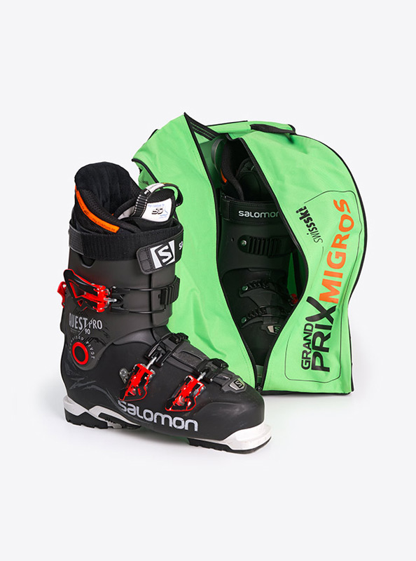 Skischuhtasche mit Logo bedruckt