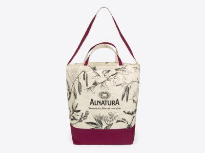 Nachhaltig und für einen guten Zweck: Die Alnatura Shoppingtasche