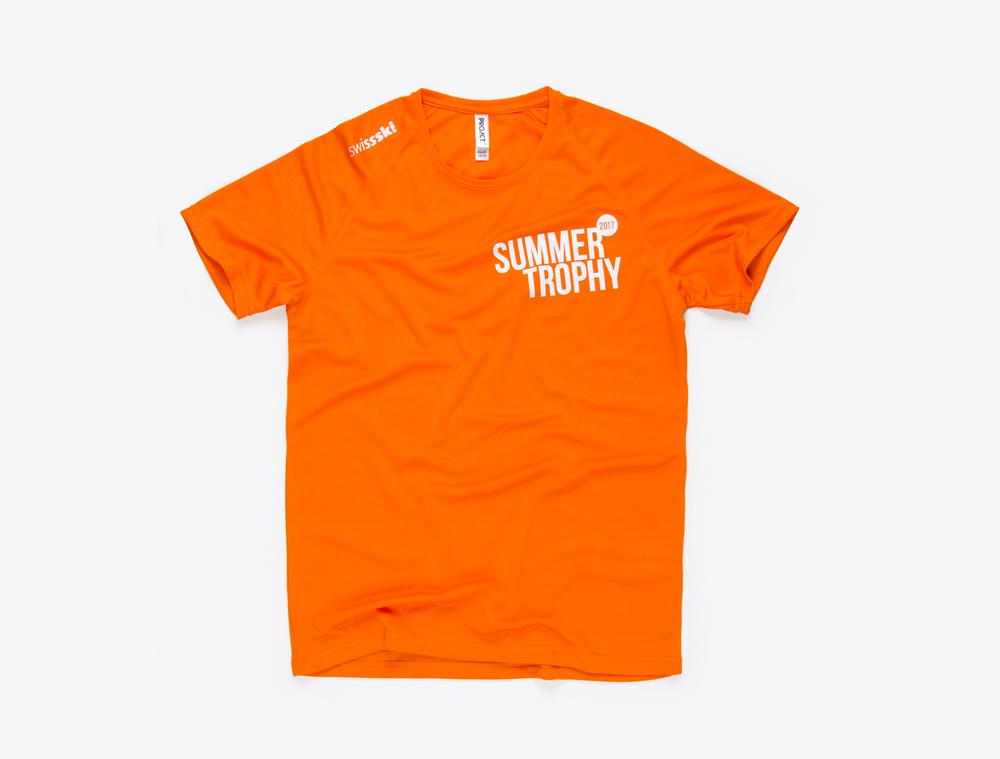 T-Shirts mit Logo bedruckt Summer Trophy