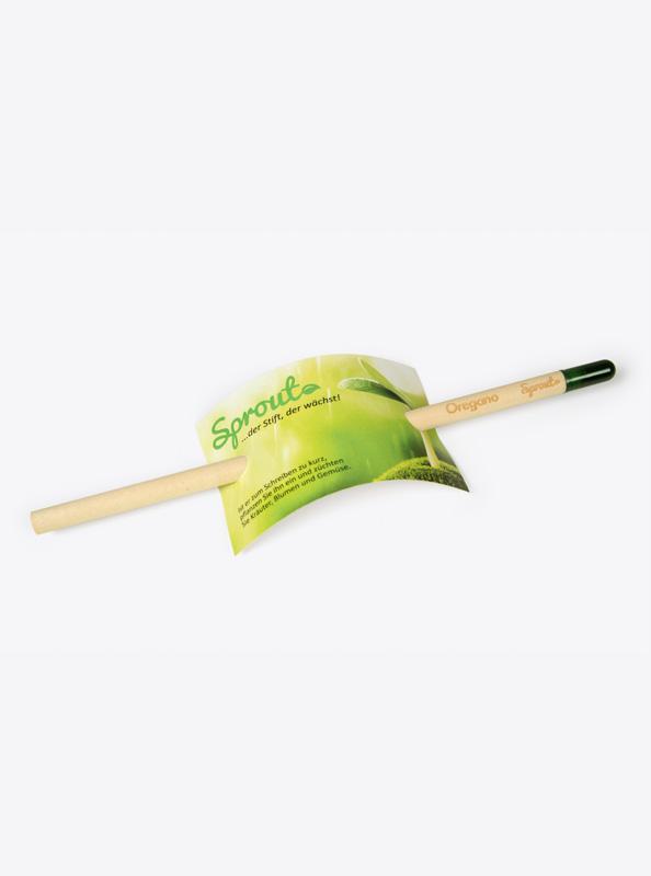 Bleistift Sprout mit Firmen Logo-gravur