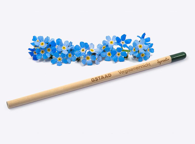 Bleistift mit Logogravur Gstaad Tourismus