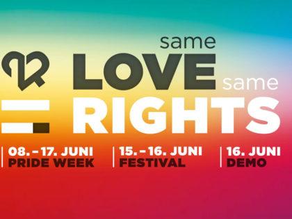 Bedruckte T-Shirts und Poloshirts für das Zürich Pride Festival