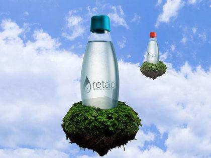 Nachhaltige Retap-Trinkflaschen für Acceleris-Mitarbeiter