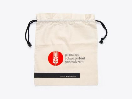 Schweizer Brot im Bio-Baumwollsack