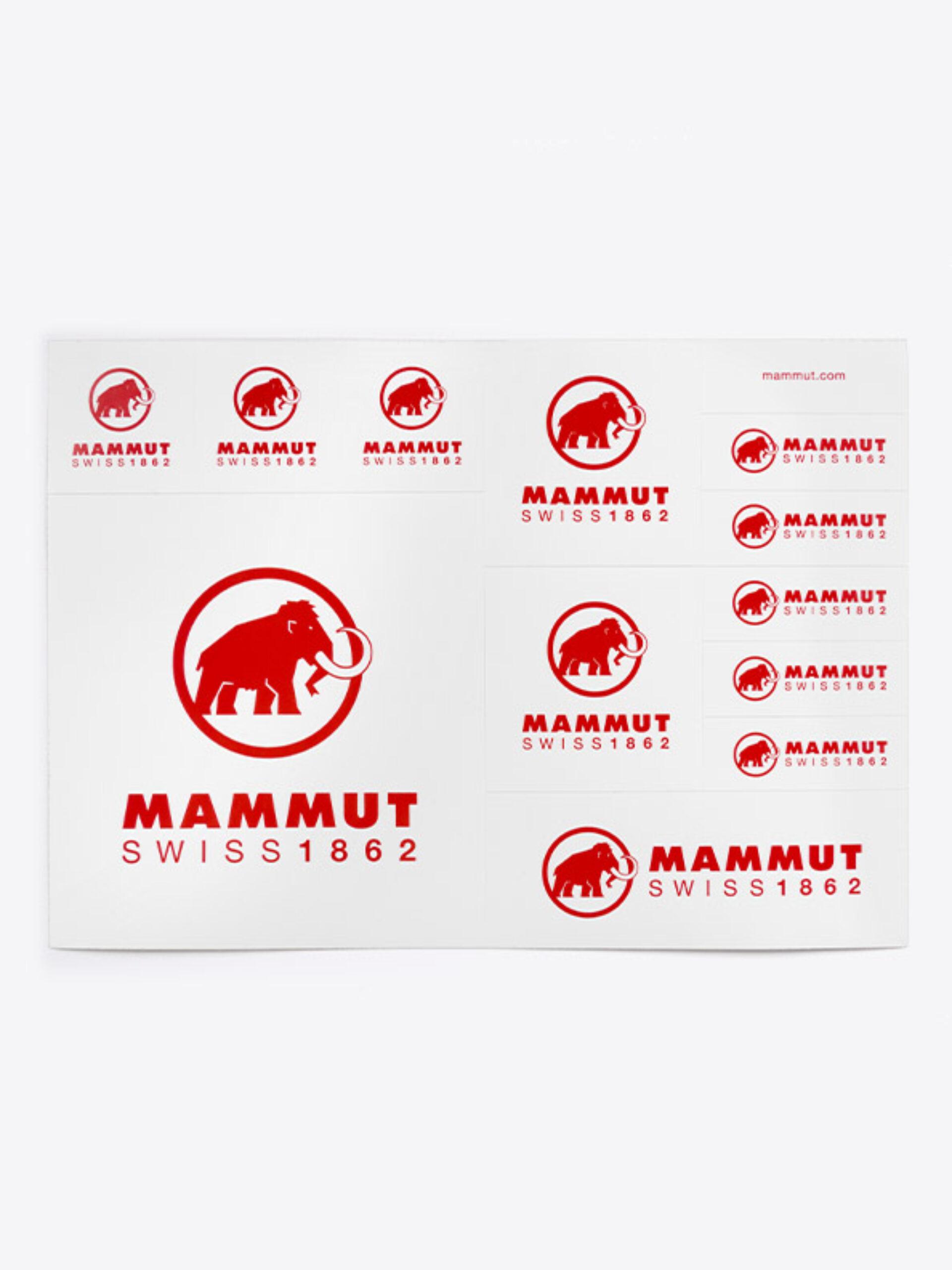 Aufklebeboegen Stickerbogen Individuell Bedruckt Mammut