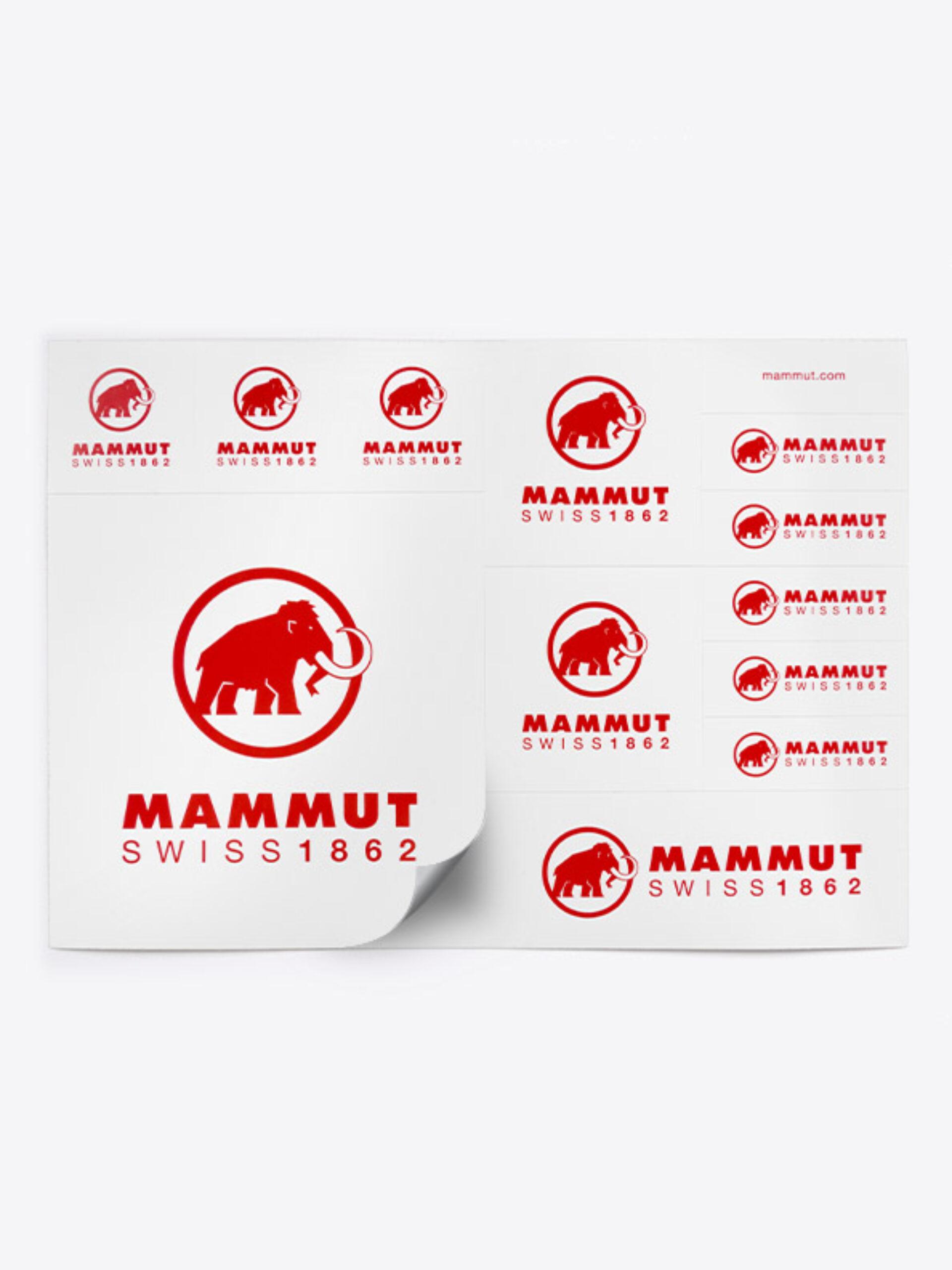 Aufklebeboegen Stickerbogen Individuell Bedruckt Zurich Mammut