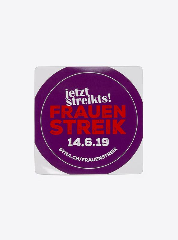 Aufkleber Mit Sujet Bedrucken Alle Formate Sticker Kleber Frauenstreik