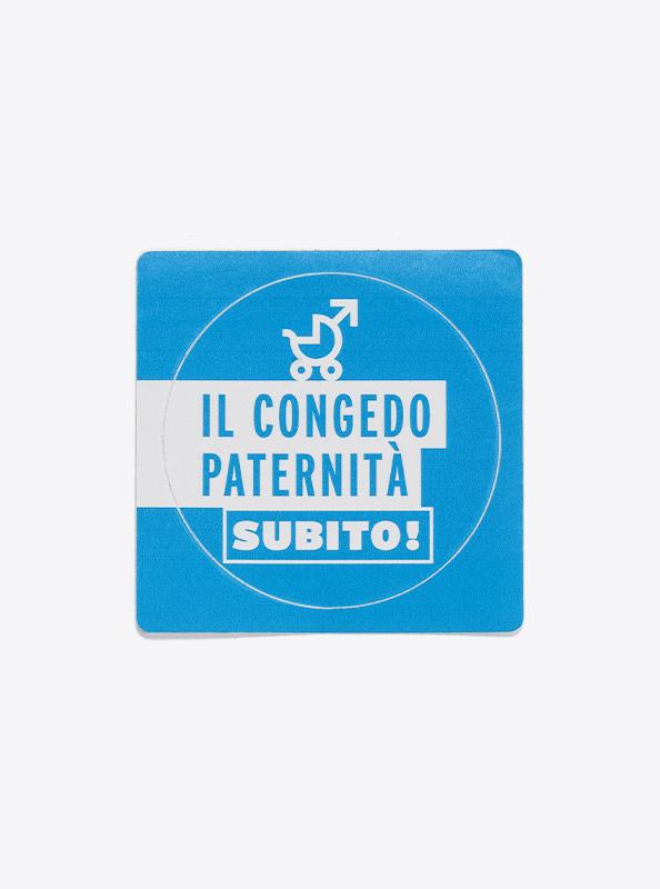 Aufkleber Mit Sujet Bedrucken Kleber Sticker Vaterschaftsurblau