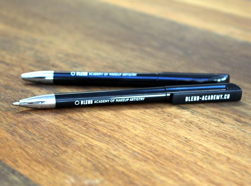 Blend Acadamy Kugelschreiber Logo Siebdruck Zuerich