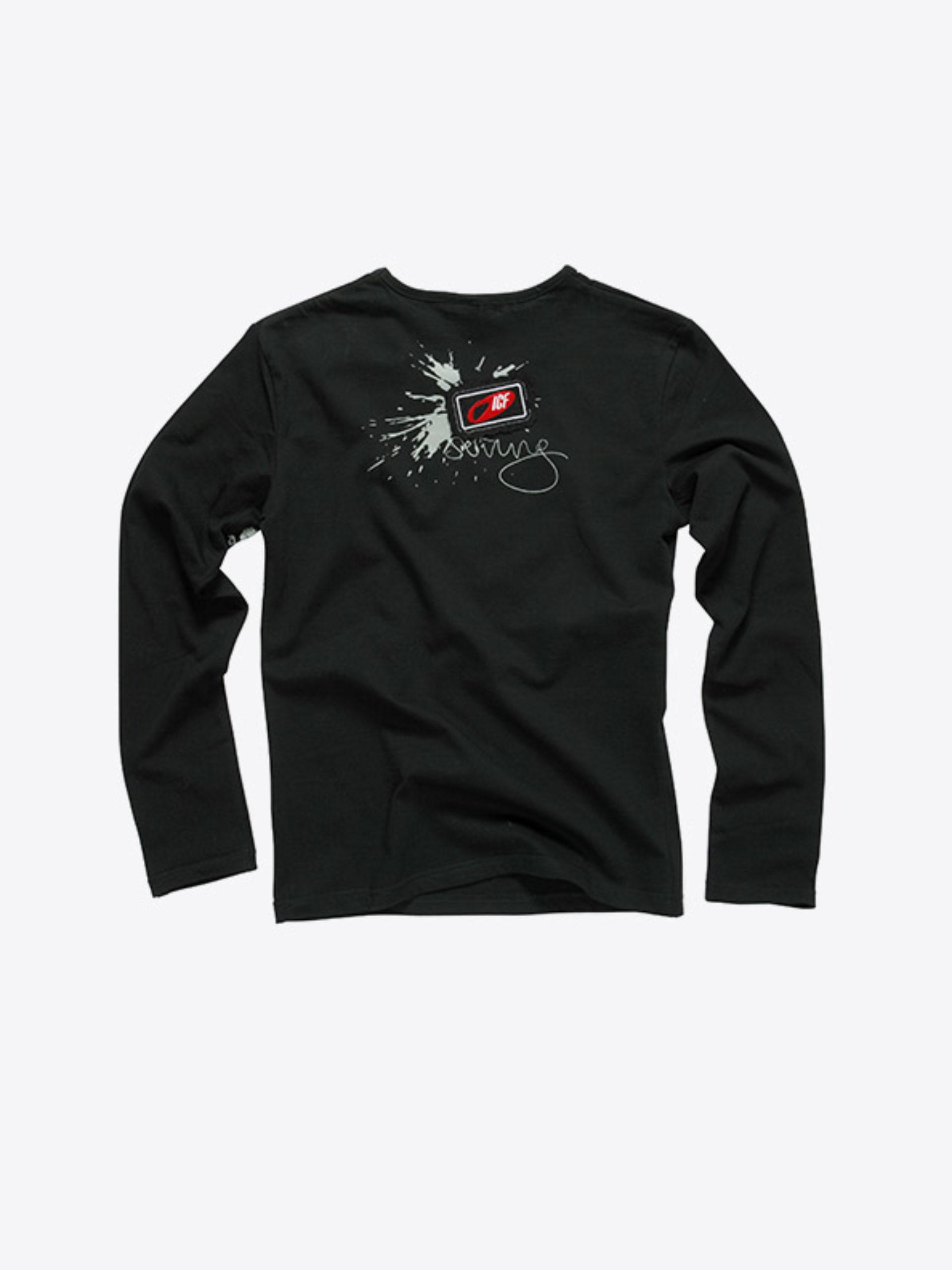 Damen T Shirt Langarm Mit Firmen Logo Bedrucken