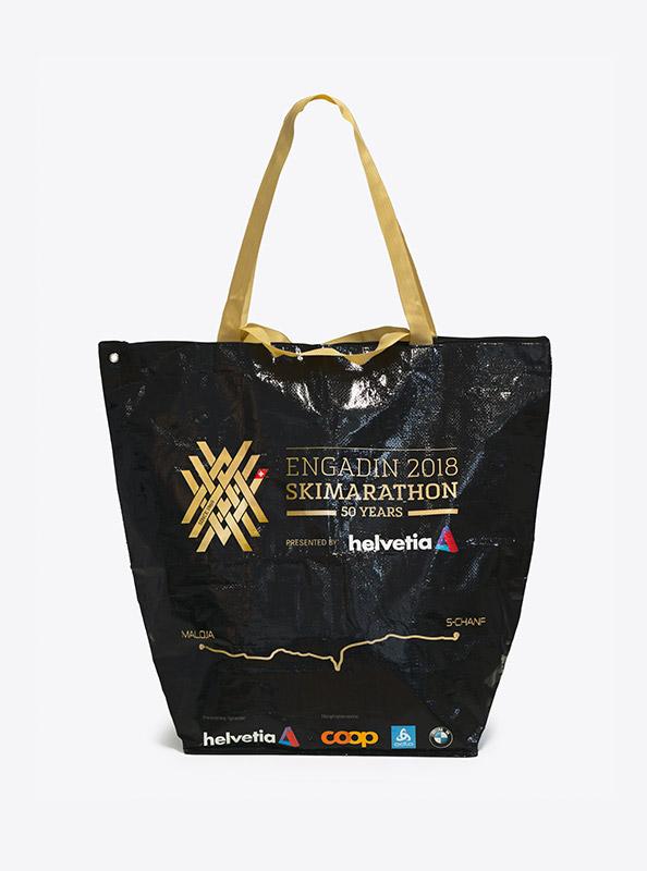Einkaufstasche Mit Logo Bedrucken Engadin