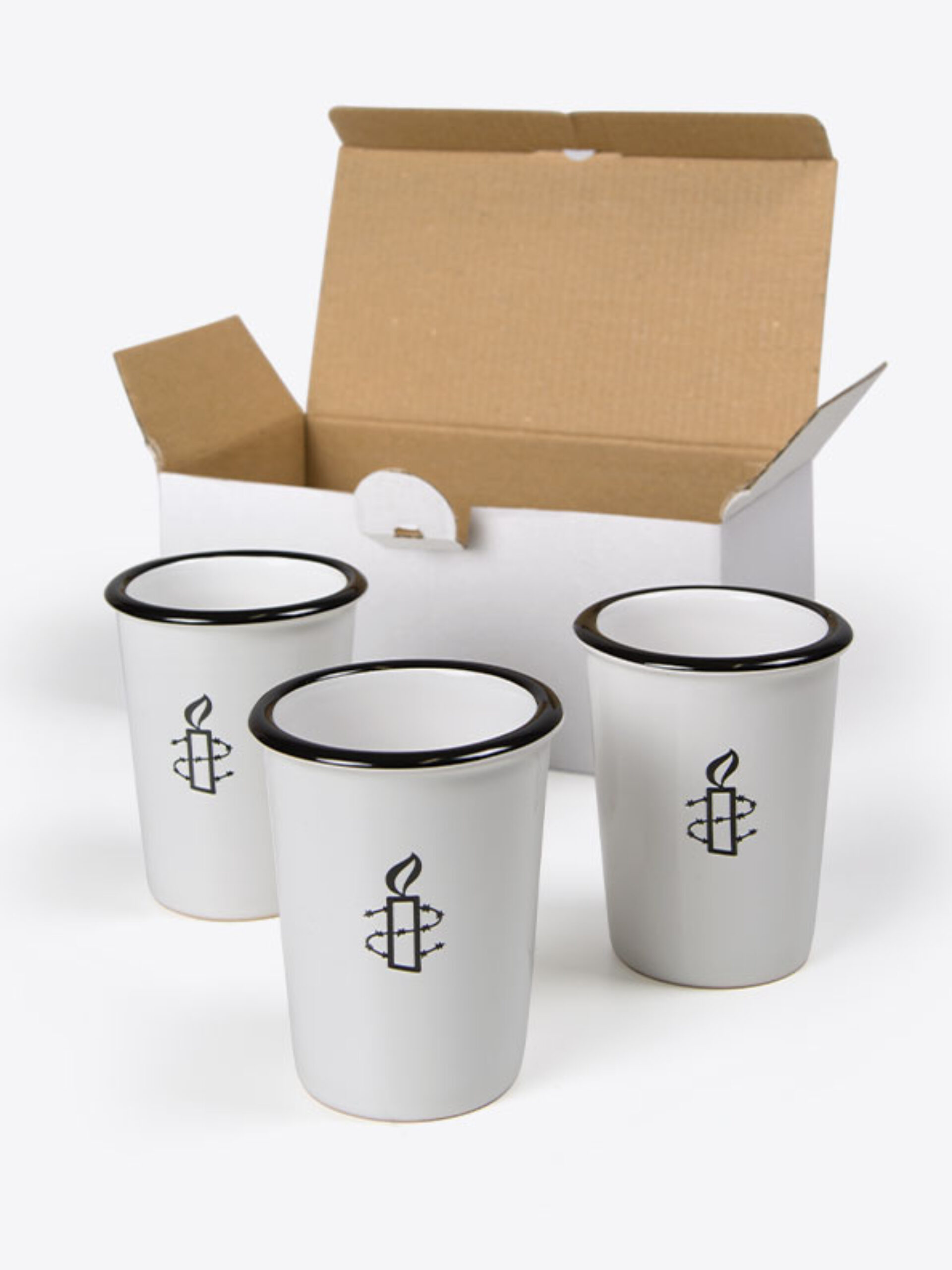 Espresso Tasse Mit Logo Bedruckt Verpackung