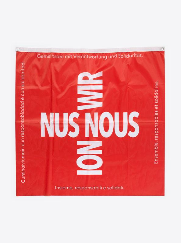 Fahne Flagge Im Digitaldruck Bedrucken BAG
