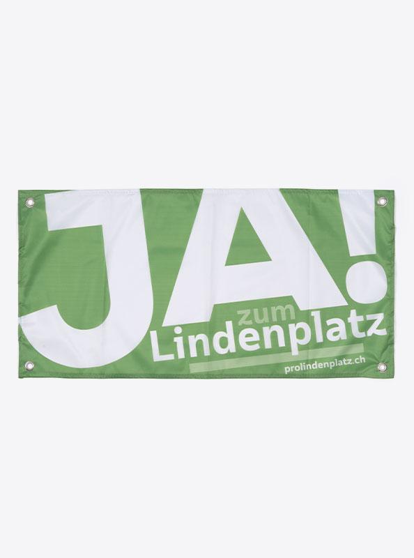 Fahne Flagge Im Digitaldruck Bedrucken SP Lindenplatz