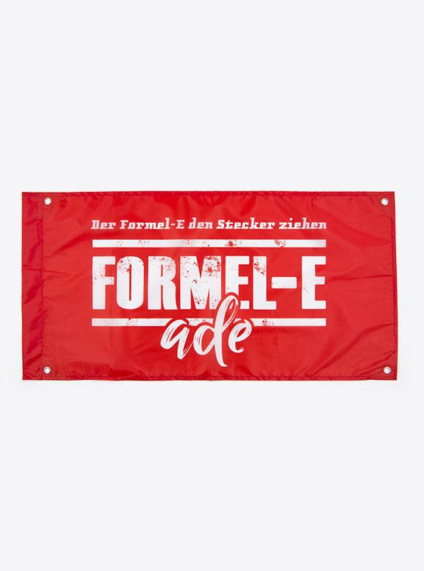 Fahne Flagge Im Digitaldruck Bedrucken Mit Sujet Formel E