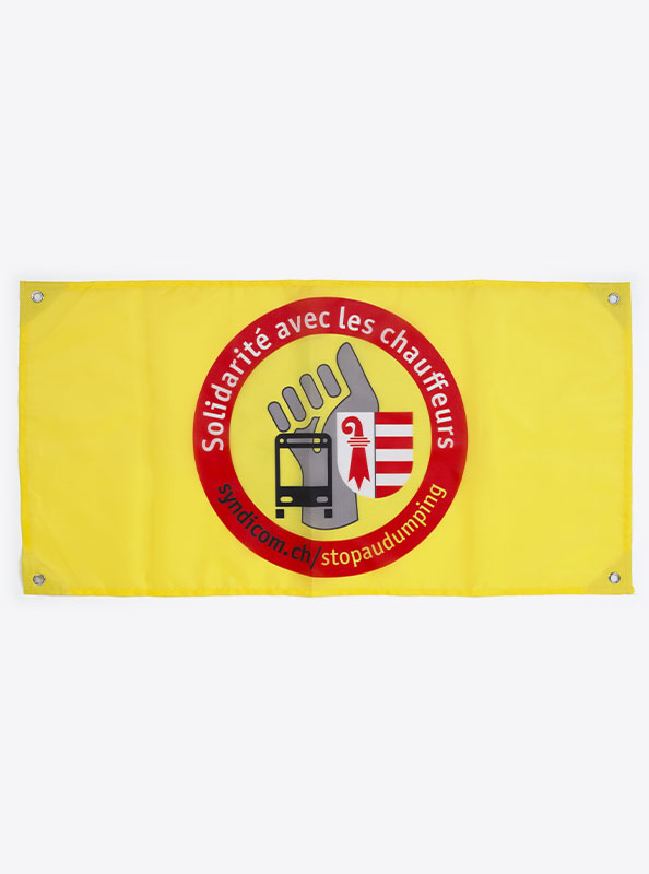 Fahne Flagge Im Digitaldruck Bedrucken Mit Sujet Syndicom