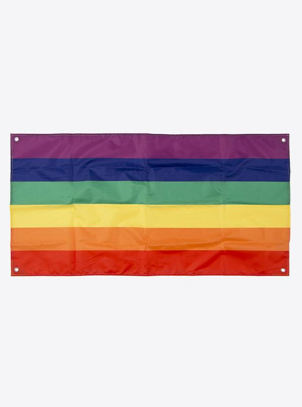 Fahne Flagge Im Digitaldruck Bedrucken Rainbow Flag