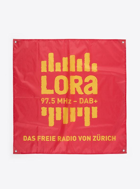 Fahne Flagge Im Digitaldruck Bedrucken Mit Sujet Radio Lora