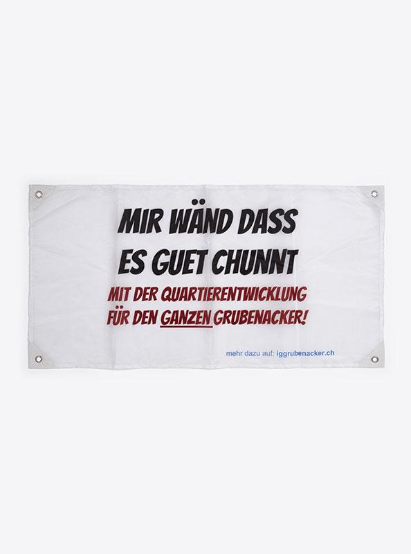 Fahne Flagge Im Digitaldruck Bedrucken Mit Sujet