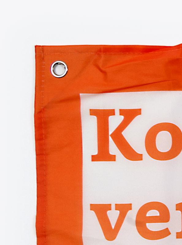 Fahne Flagge Im Digitaldruck Bedrucken Mit Sujet Oese
