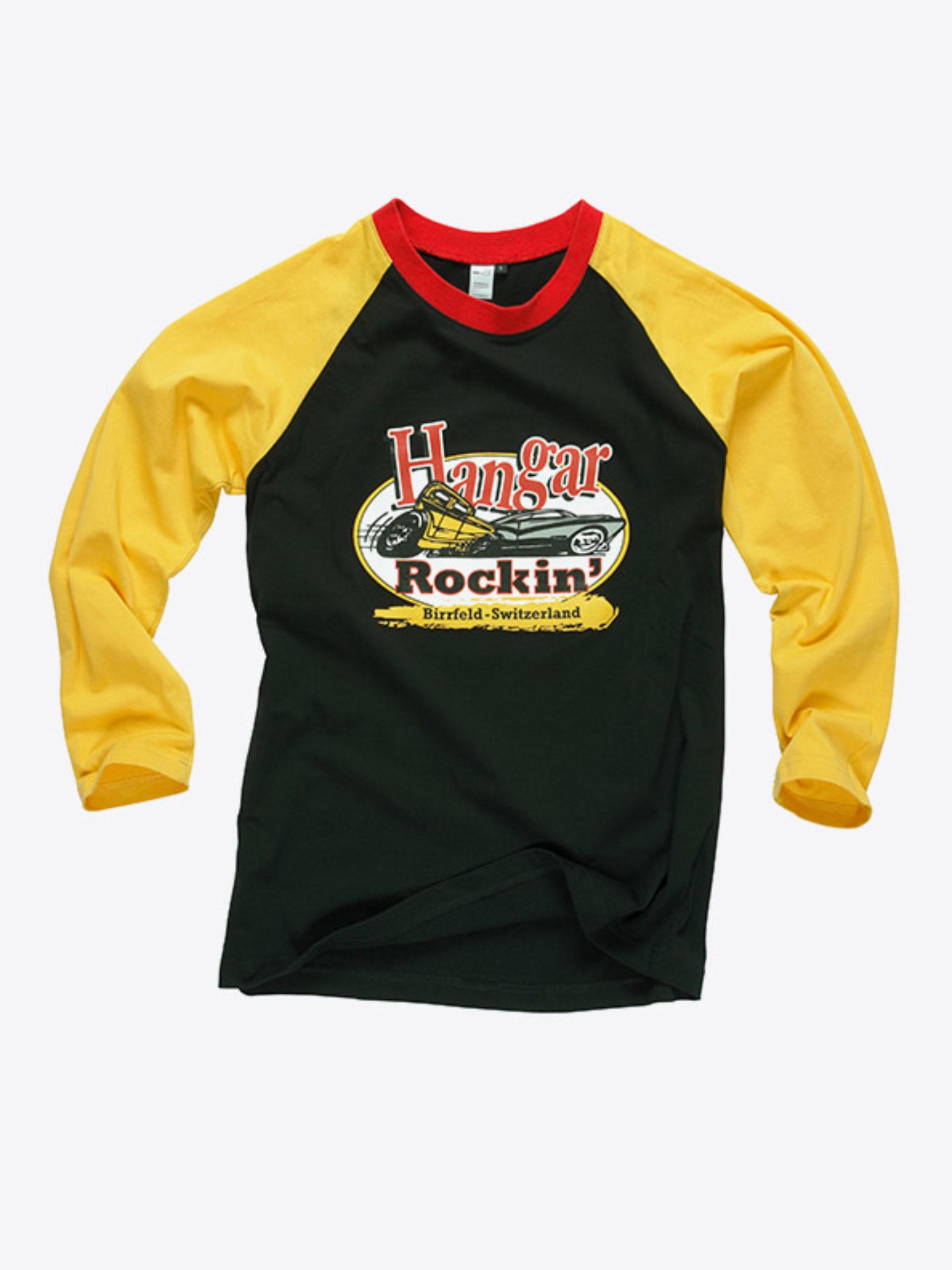 Herren T Shirt Langarm Mit Logo Drucken
