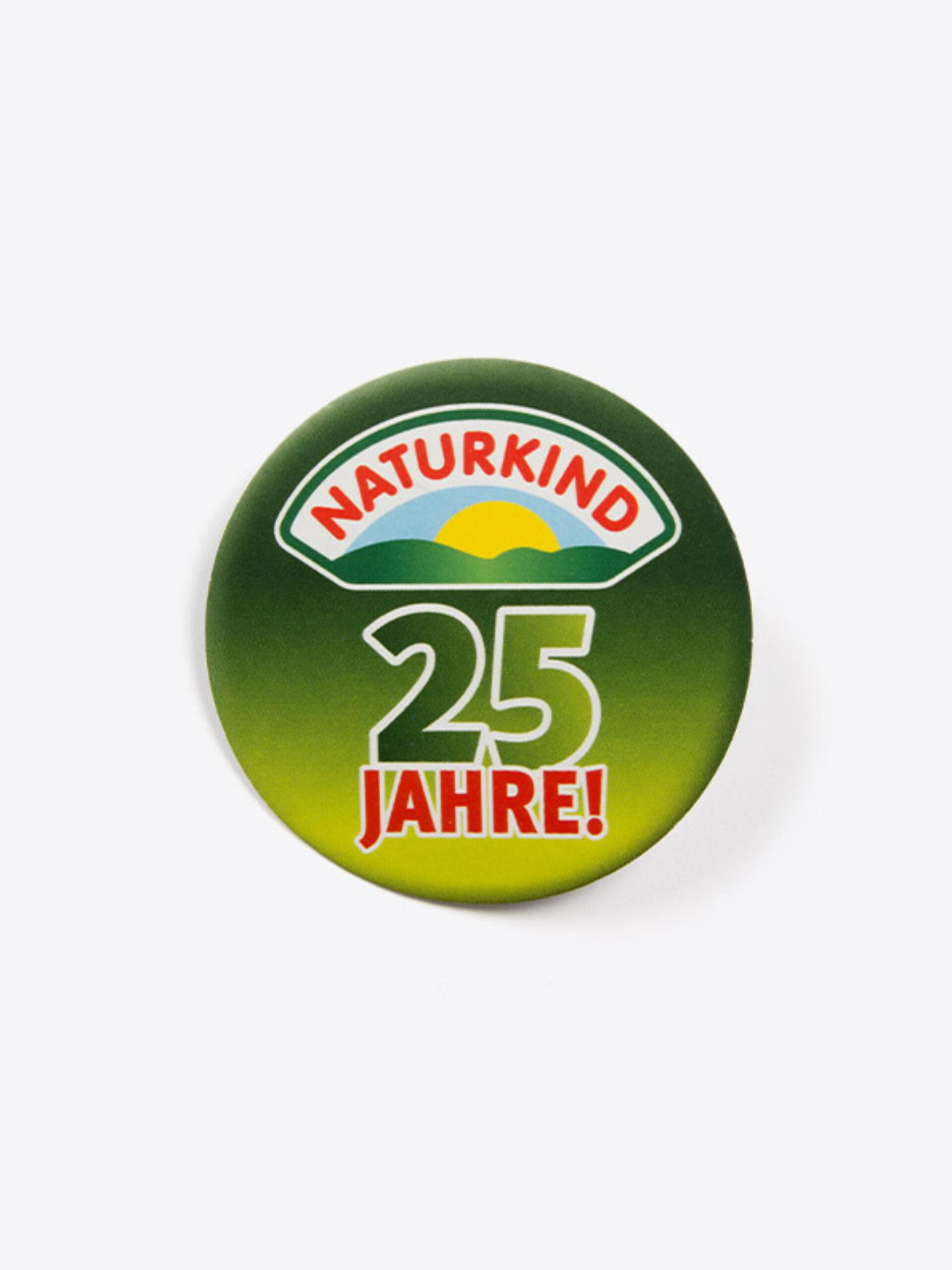 Oeko Button Im Digitaldruck Mit Logo Naturkind