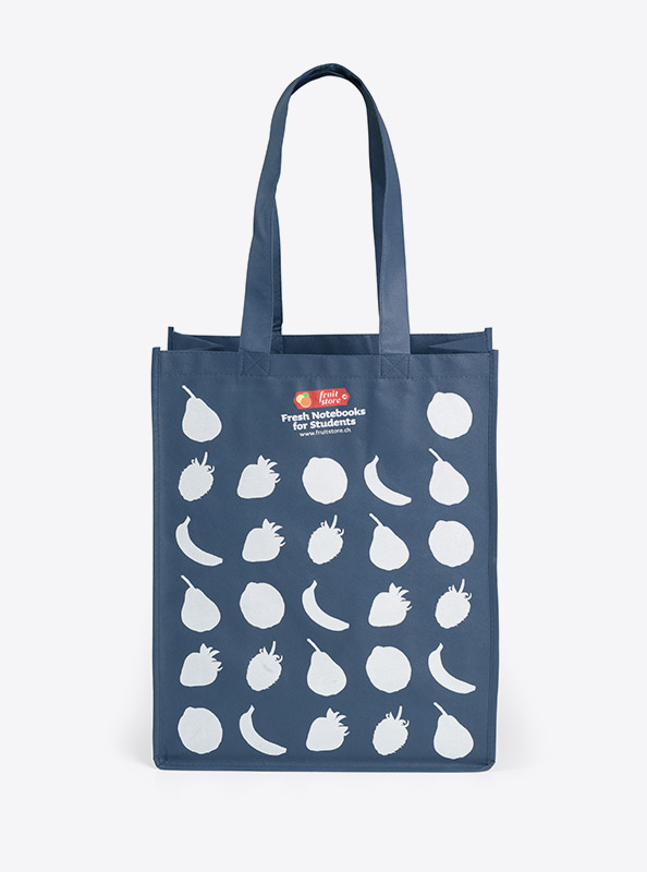 Shopping Bag Mit Logo Bedrucken Fruitstore