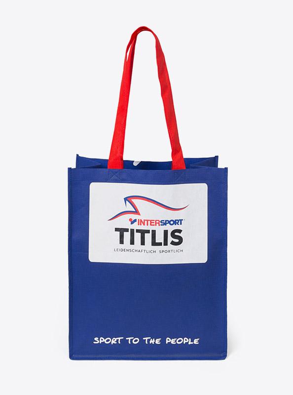 Shopping Bag Mit Logo Bedrucken Titlis