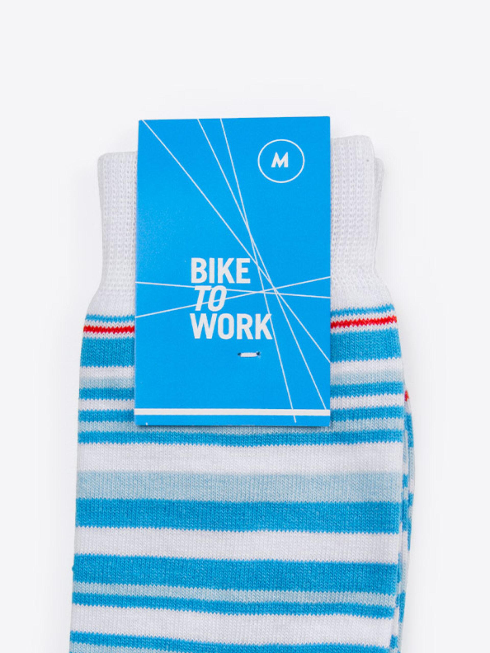 Socken Mit Logo Einwebung Verpackung Bestellen Bike To Work