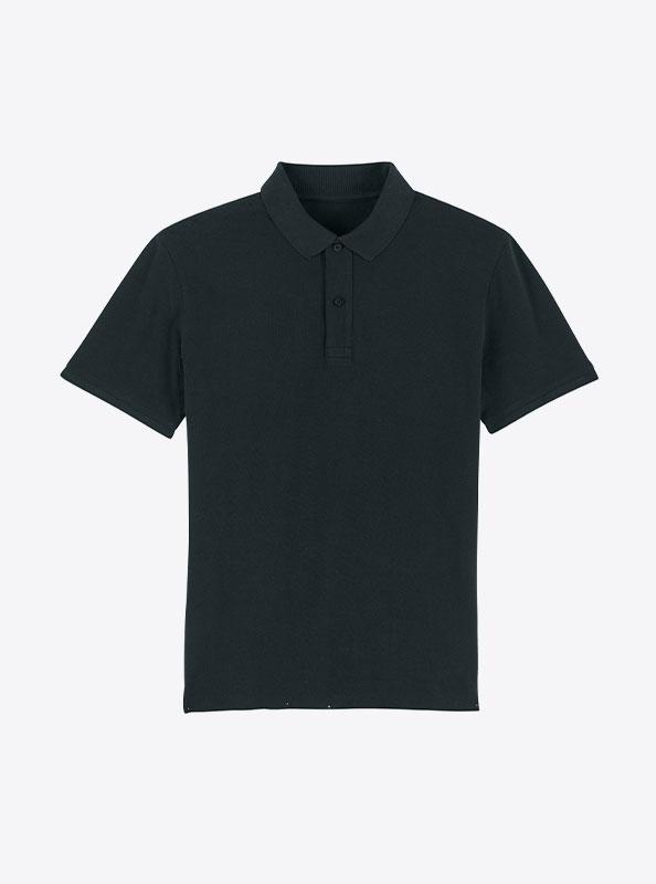 StellaStanley Herren Dedicator Baumwolle Mit Logo Siebdruck Black
