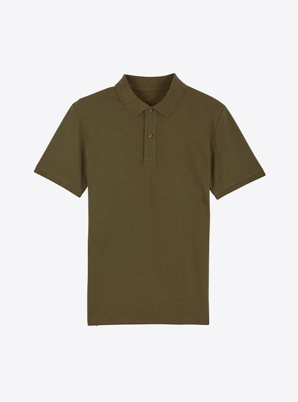 StellaStanley Herren Dedicator Baumwolle Mit Logo Siebdruck Brithish Khaki