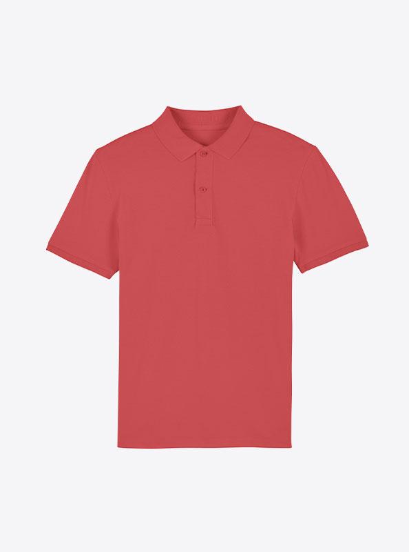 StellaStanley Herren Dedicator Baumwolle Mit Logo Siebdruck Carmine Red