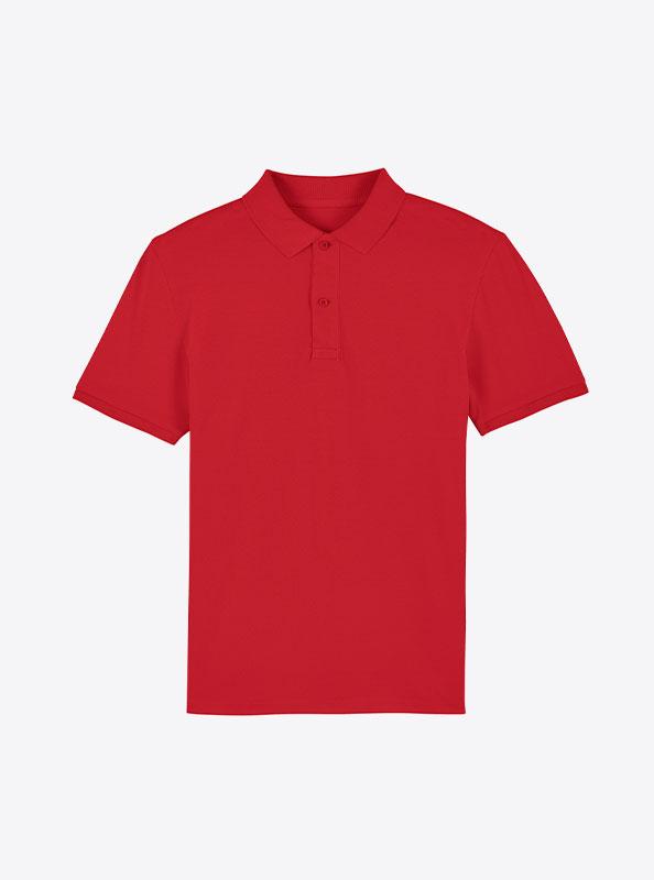 StellaStanley Herren Dedicator Baumwolle Mit Logo Siebdruck Red