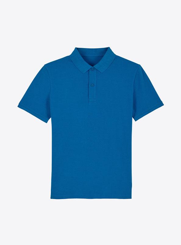 StellaStanley Herren Dedicator Baumwolle Mit Logo Siebdruck Royal Blue
