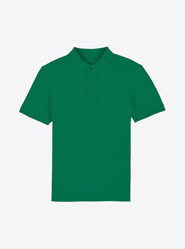 StellaStanley Herren Dedicator Baumwolle Mit Logo Siebdruck Varsity Green