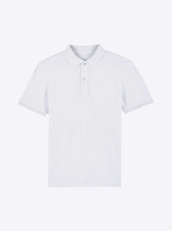 StellaStanley Herren Dedicator Baumwolle Mit Logo Siebdruck White