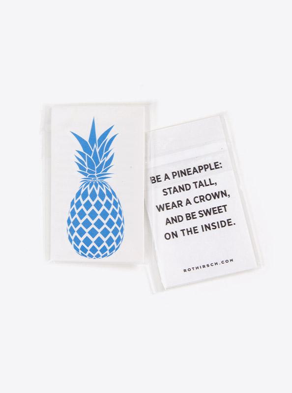Tattoo Temporaer Mit Eigenem Motiv Pineapple