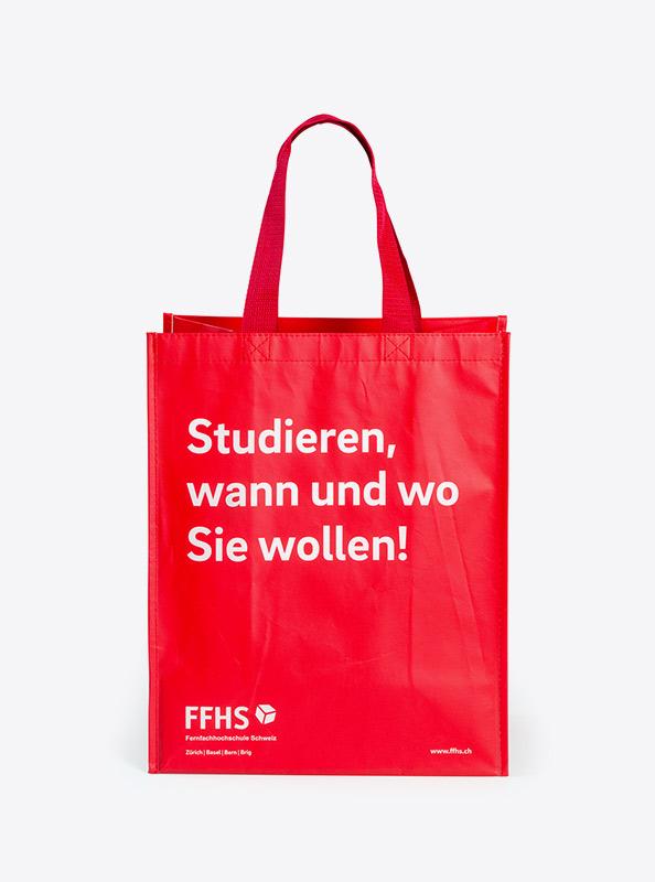 Tragtasche Vlies Laminiert Bedrucken Mit Logo Ffhs