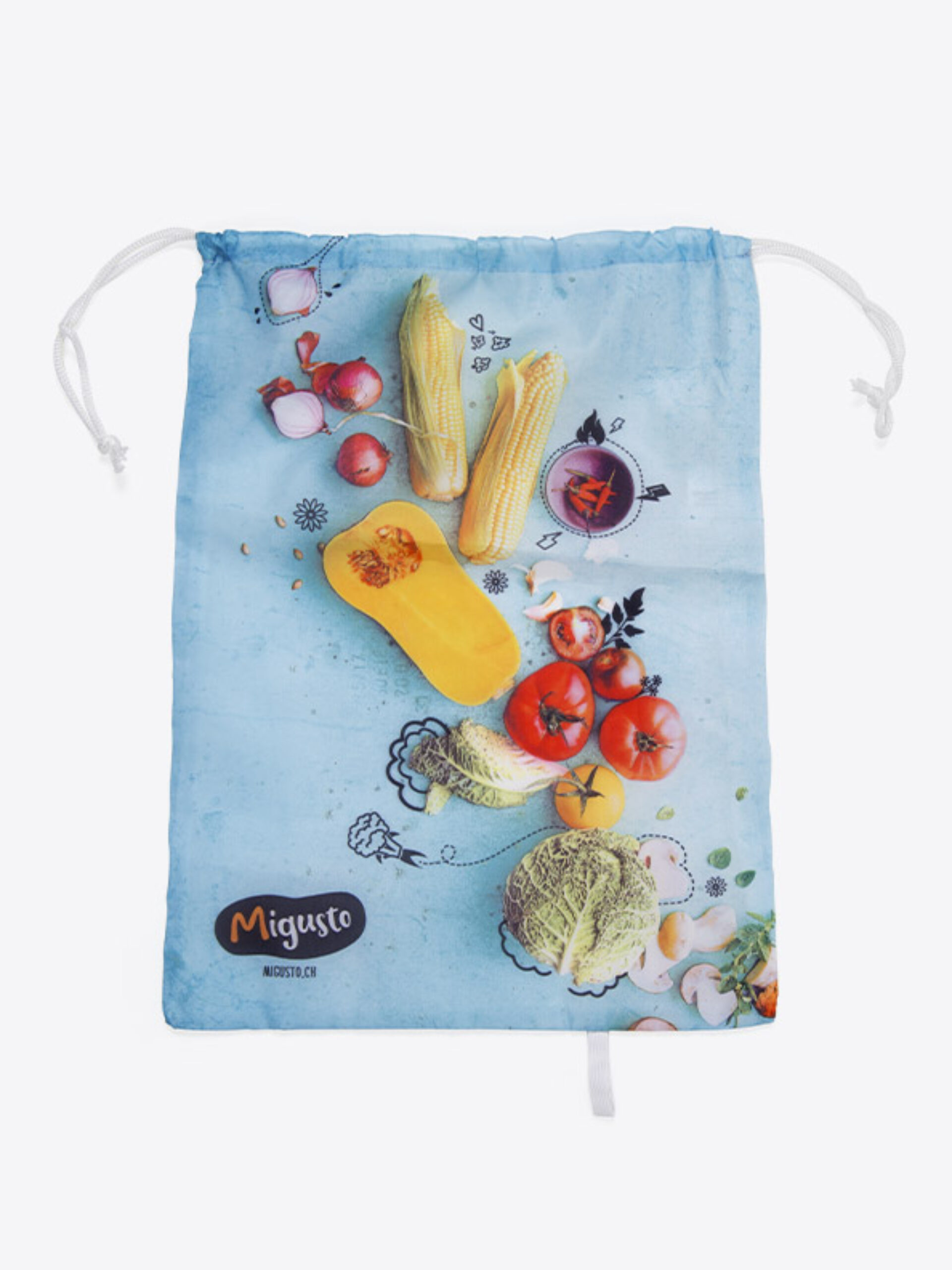 Veggie Bag Gemuese Fruechte Sack Digitaldruck Migusto