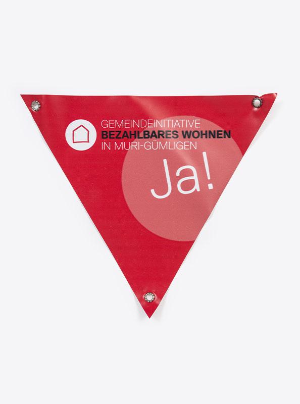 Velo Dreieck Bedrucken Mit Motiv Gemeinde Muri Guemligen