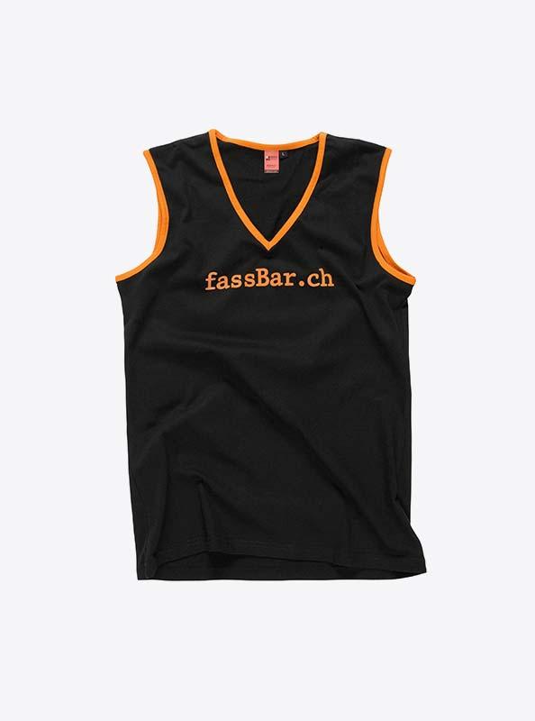 Aermellos T Shirt Damen Fuer Verein Drucken