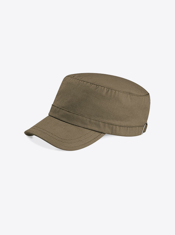 Army Cap Bedrucken Mit Logo Beechfield B34 Farbe Khaki