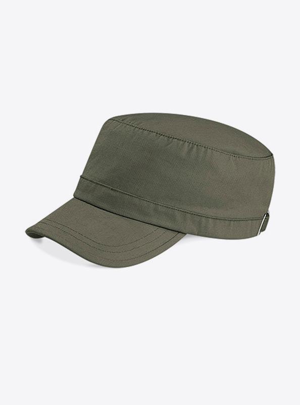 Army Cap Bedrucken Mit Logo Beechfield B34 Farbe Olive Green