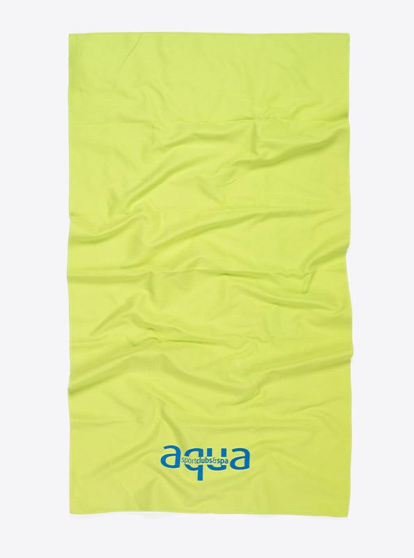 Badetuch Mikrofaser Mit Firmen Logo Bedrucken Migros Aqua